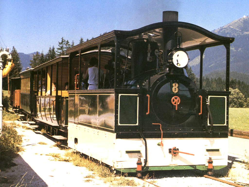 Die Eisenbahnen in Österreich Tramway Lokomotive Nr. 8